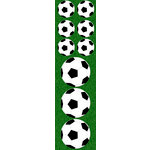 Reminisce - Real Sports Collection - Chipboard Stickers - Soccer