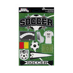 Reminisce - Real Sports Collection - 3 Dimensional Die Cut Stickers - Soccer