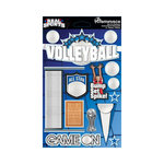 Reminisce - Real Sports Collection - 3 Dimensional Die Cut Stickers - Volleyball