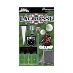 Reminisce - Real Sports Collection - 3 Dimensional Die Cut Stickers - Lacrosse