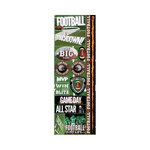Reminisce - Real Sports Collection - Cardstock Stickers - Combo - Football