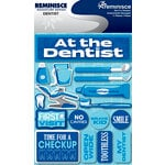 Reminisce - Signature Series Collection - 3 Dimensional Die Cut Stickers - Dentist