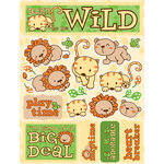 Reminisce - Signature Series Collection - 3 Dimensional Die Cut Stickers - Born to be Wild
