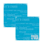 Reminisce - Cruise Collection - 12x12 Double Sided Paper - Cruise