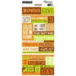 Reminisce - Moving Collection - Cardstock Stickers - Moving Quote