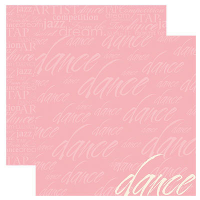 Reminisce - Signature Series Collection - 12 x 12 Double Sided Paper - Just Dance