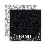 Reminisce - Signature Series Collection - 12 x 12 Double Sided Paper - Band