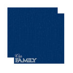 Reminisce - Signature Series Collection - 12 x 12 Double Sided Paper - Our Family