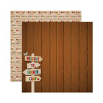 Reminisce - Signature Series Collection - 12 x 12 Double Sided Paper - Summer Camp