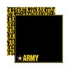 Reminisce - Signature Series Collection - 12 x 12 Double Sided Paper - Army