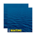 Reminisce - Signature Series Collection - 12 x 12 Double Sided Paper - Boating