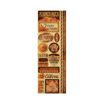 Reminisce - Signature Series Collection - Cardstock Stickers - Combo - Pumpkin Patch