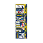 Reminisce - Signature Series Collection - Cardstock Stickers - Combo - Navy