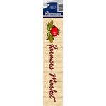 Reminisce - Cardstock Stickers - Signature Title - Farmer's Market