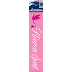 Reminisce - Cardstock Stickers - Signature Title - Heaven Sent Pink