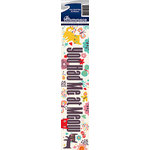Reminisce - Cardstock Stickers - Signature Title - You Had Me At Meow