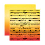 Reminisce - Spellbound Collection - Halloween - 12 x 12 Double Sided Paper - Halloween
