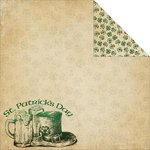 Reminisce - St. Patrick's Day Collection - 12 x 12 Double Sided Paper - St. Patrick's Day