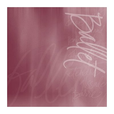 Reminisce - The Dance Studio Collection - Patterned Paper - Ballet