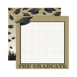 Reminisce - The Graduate Collection - 12 x 12 Double Sided Paper - We Did It!