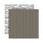 Reminisce - The Graduate Collection - 12 x 12 Double Sided Paper - The Graduate