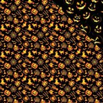 Reminisce - The Halloween Collection - 12 x 12 Double Sided Paper - Ghouls and Ghosts