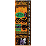 Reminisce - The Halloween Collection - Cardstock Stickers - Combo