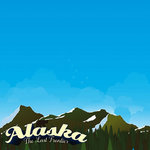 Reminisce - The State Line Collection - 12 x 12 Paper - Alaska