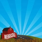 Reminisce - The State Line Collection - 12 x 12 Paper - Nebraska