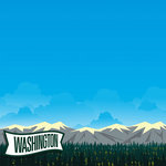 Reminisce - The State Line Collection - 12 x 12 Paper - Washington