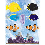 Reminisce - Under The Sea Collection - Seaworld - 3 Dimensional Stickers - Coral Reef