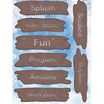 Reminisce - Under The Sea Collection - Seaworld - 3 Dimensional Stickers - Wood Signs