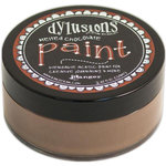 Ranger Ink - Dylusions Paint - Melted Chocolate
