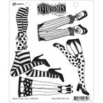 Ranger Ink - Dylusions Stamps - Unmounted Rubber Stamps - Daddy Long Legs