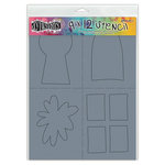 Ranger Ink - Dylusions Stencils - Keyholes - Shapes 2 - Large