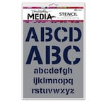 Ranger Ink - Dina Wakley Media - Stencils - Alphabetic