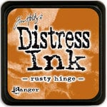 Ranger Ink - Tim Holtz - Distress Ink Pads - Mini - Rusty Hinge