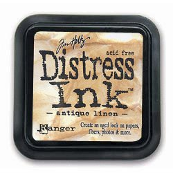 Ranger Ink - Tim Holtz Distress Ink Pads - Antique Linen