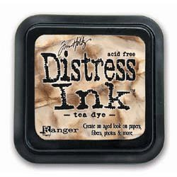 Tim Holtz Distress Ink Pads - Tea Dye