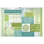 Rusty Pickle - Lucky Collection - St. Patrick's Day - Cardstock Coupons - Lucky, CLEARANCE