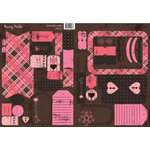 Rusty Pickle - Chocolate Kisses Collection - Tag Set - Chocolate Kisses - Valentine, CLEARANCE