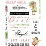 Rusty Pickle - Girly Girl Rub-Ons, CLEARANCE