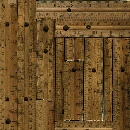 Rusty Pickle Paper - Vintage Rulers