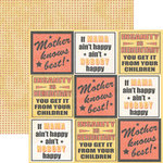 Rusty Pickle - Double Sided Paper - Pickelicious Collection - Mom Knows Best