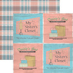 Rusty Pickle - Double Sided Paper - Pickelicious Collection - Four Square, CLEARANCE