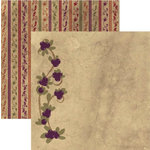 Rusty Pickle - French Market Collection - 12x12 Double Sided Paper - Baie, CLEARANCE