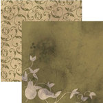 Rusty Pickle - French Market Collection - 12x12 Double Sided Paper - Poire
