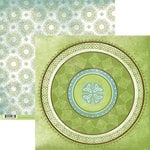 Rusty Pickle - Lucky Collection - St. Patrick's Day - 12x12 Double Sided Paper - The Emerald Rose