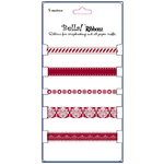 Ruby Rock It Designs - Bella - Christmas Collection - Ribbon Pack - Candy Cane