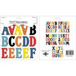 Ruby Rock It Designs - Bella - Paper Boy Collection - Chipboard Pieces - Alphabet